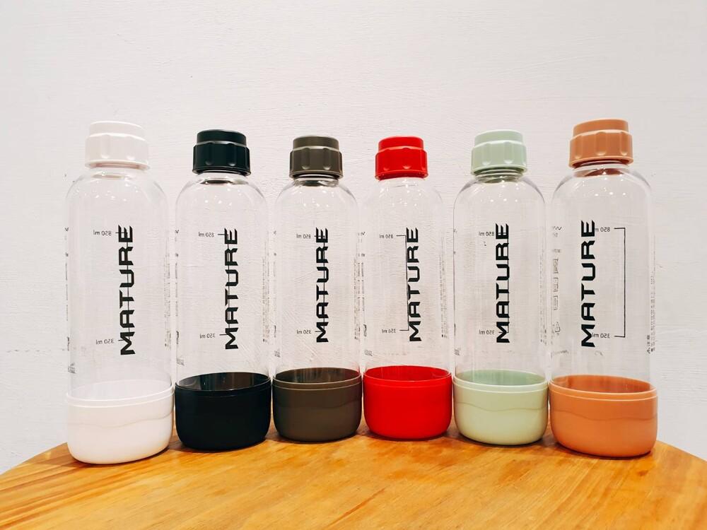*瀚弘鋼瓶小棧*美萃氣泡水機 水瓶 mature drinkmate 通用水瓶 犀牛機 1000ml