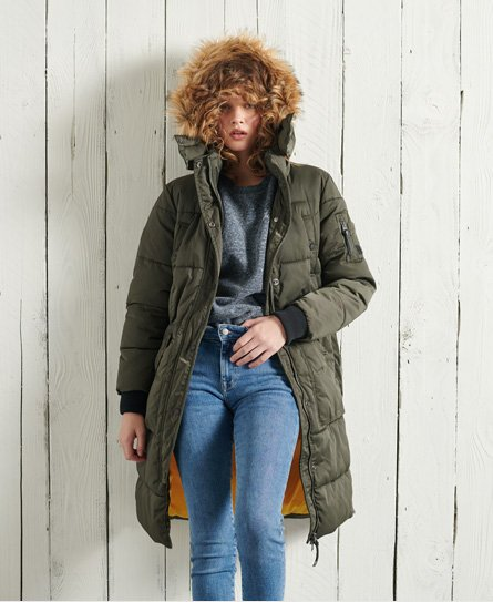 Superdry Longline Chinook Coat