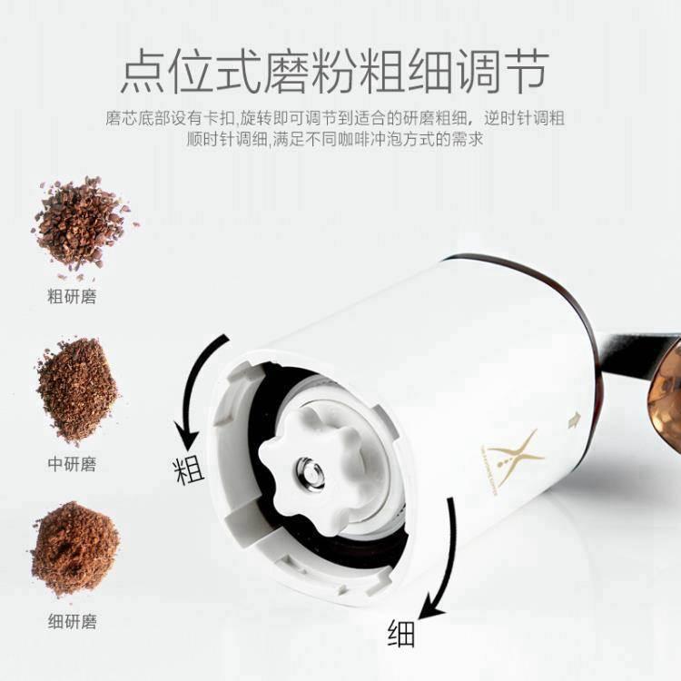 研磨機 咖啡豆研磨機手搖磨豆機手動磨粉器具迷你便攜小型家用手磨咖啡機