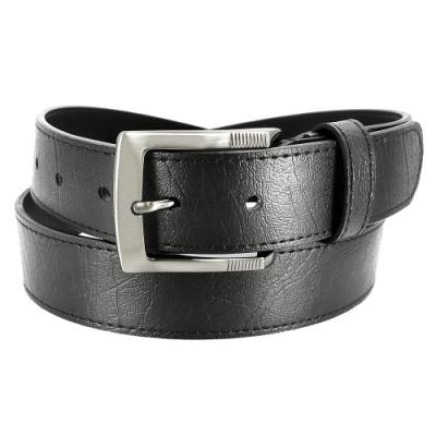 CH-BELT熱銷時尚中性型男休閒皮帶腰帶(黑)