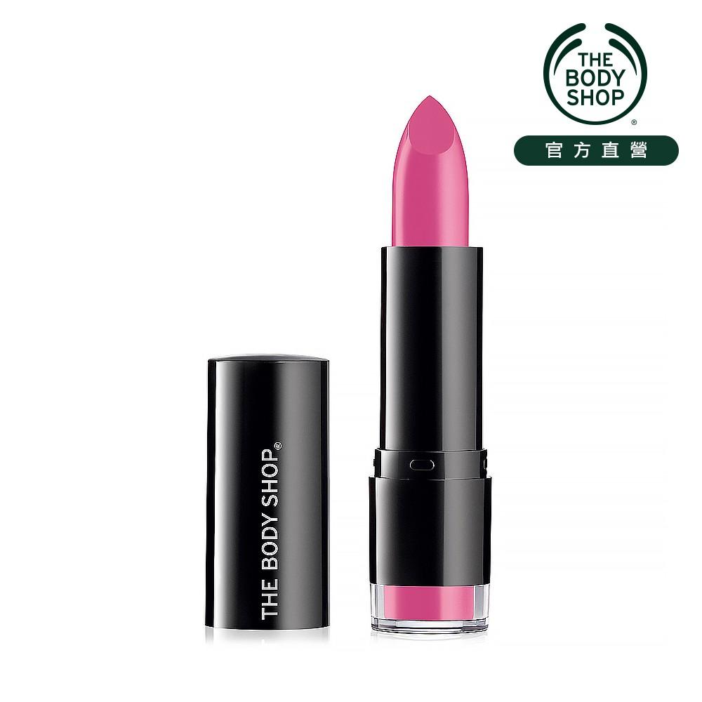 【THE BODY SHOP】繽麗保濕唇膏-125夢幻紫蓮(商品效期:2021/11/01)