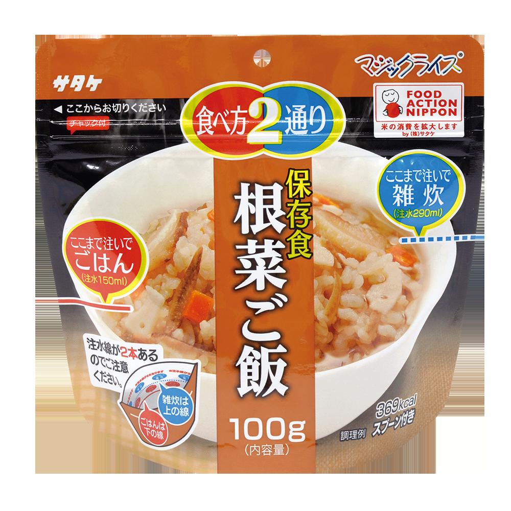 [喜康瑞] 神奇飯-根菜飯 (100g/包)