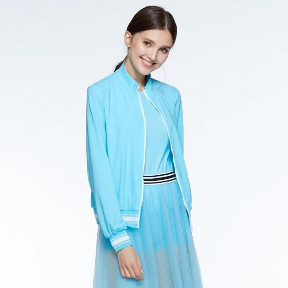 【HOII后益】HOII復刻拉鍊外套-女款(三色:黃/紅/藍)