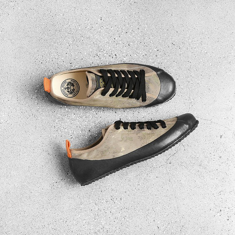 N.S.C. 英國海軍陸戰隊硫化甲板鞋 / Vintage古著