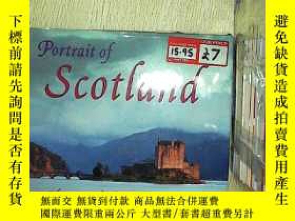 二手書博民逛書店PORTRAIT罕見OF SCOTLAND COLIN BAXT