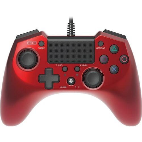 HORI PS4 FPS 有線連發手把 控制器 紅【GAME休閒館】
