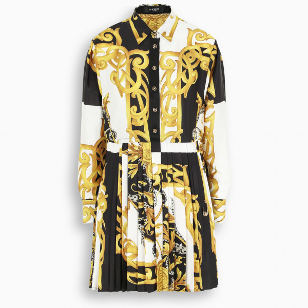VERSACE Barocco print dress