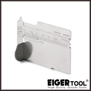 【Eigertool】超薄卡片型游標卡尺 TYK-10