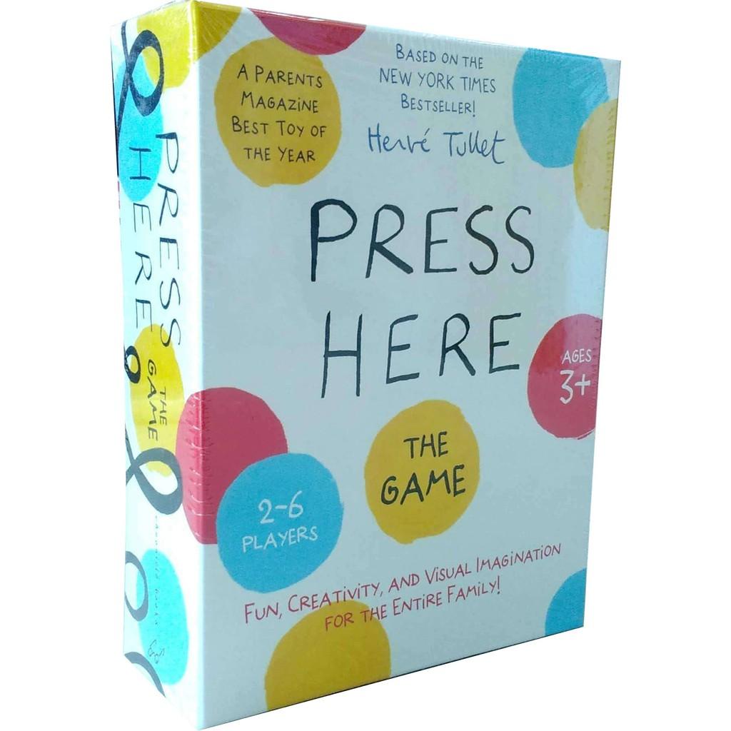 Press Here Game 桌遊【歌德書店】