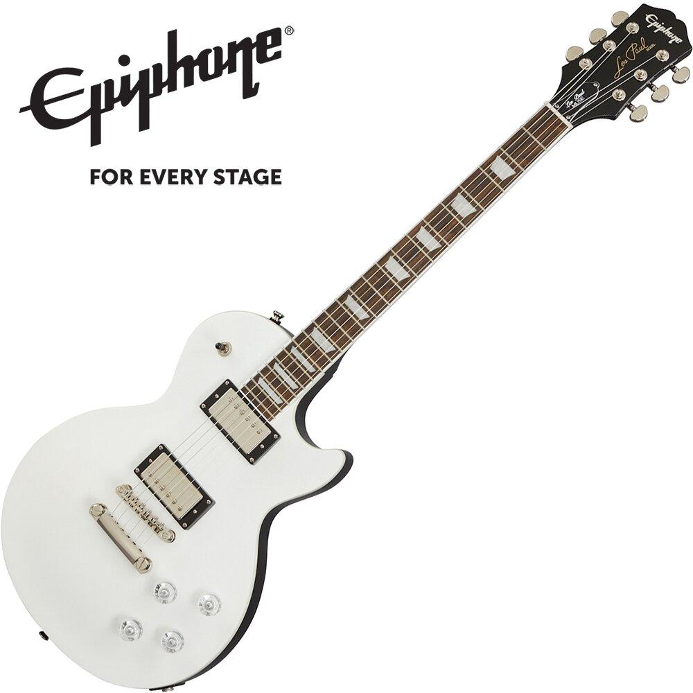 Epiphone Les Paul Muse 電吉他 金屬亮面珍珠白色款