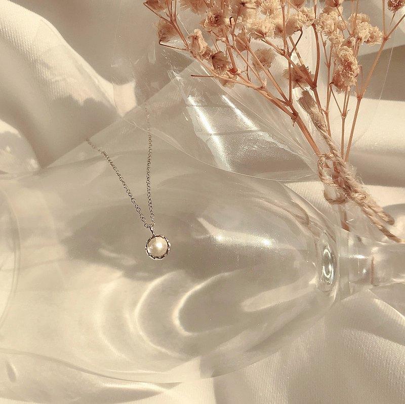 純銀 RoseCake玫瑰切工黃水晶簡約項鍊 天然石項鍊 水晶項鍊