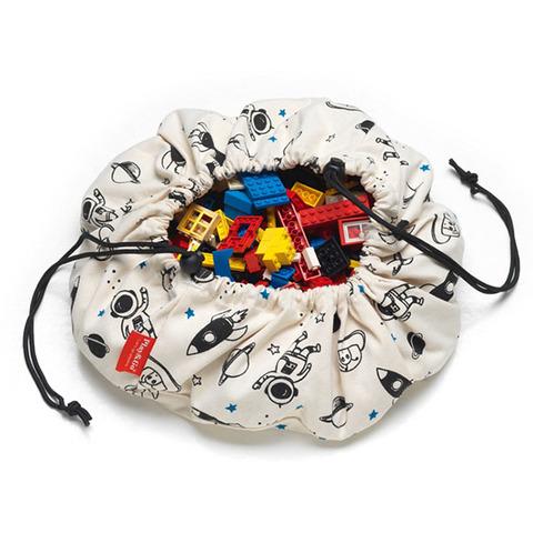 比利時Play&Go 玩具整理袋 - 迷你外太空
