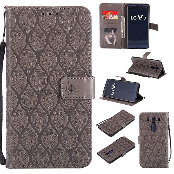 LG V10手機殼硅膠軟h961N手機套lgv10保護套h968翻蓋外殼皮套男女
