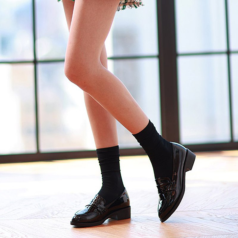 PRE-ORDER韓國人手製 MACMOC Dendy  BLACK 樂福鞋