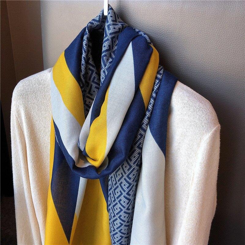 冬季加大長款薄款秋款洋氣時尚圍巾披肩外搭 雙十一