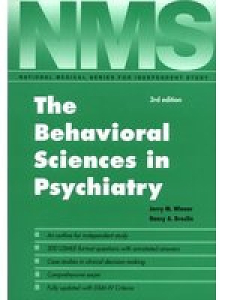 二手書博民逛書店 《The behavioral sciences in psychiatry》 R2Y ISBN:0683062034│JerryWiener