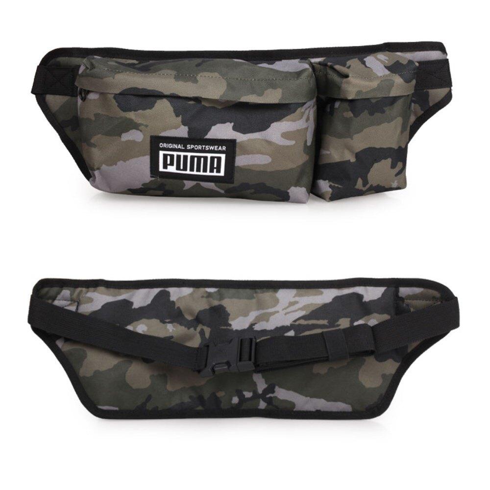PUMA 運動腰包(臀包 側背包 慢跑 單車 自行車「07730304」≡排汗專家≡