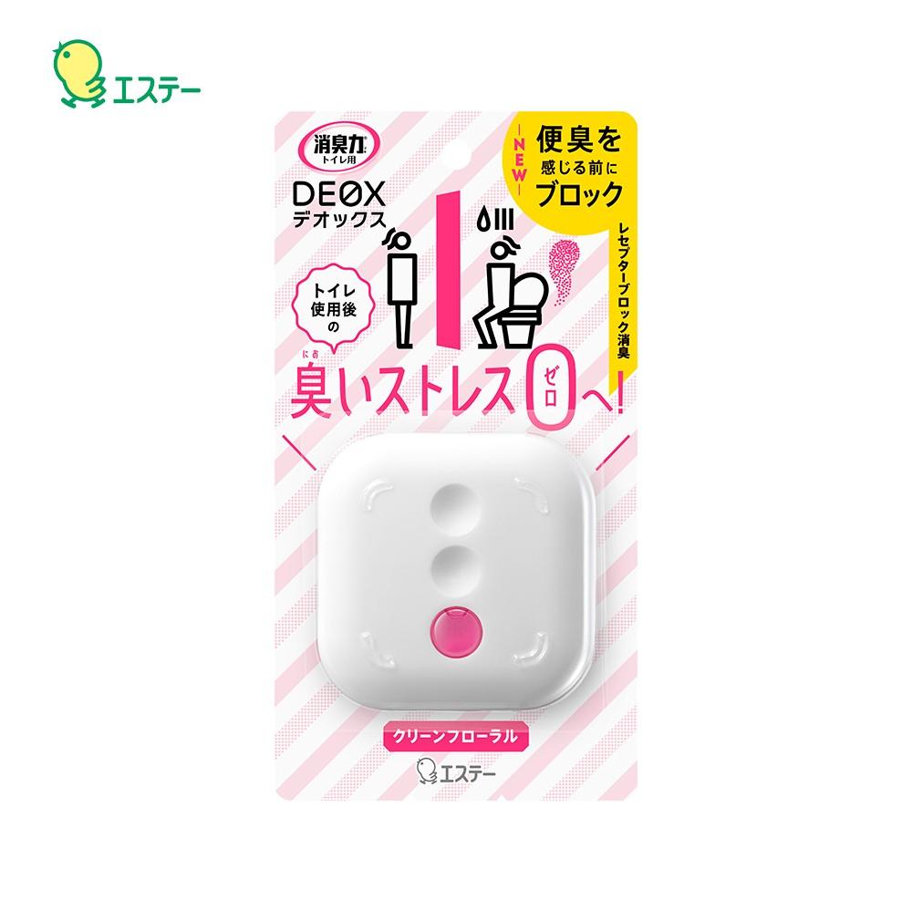 日本 ST雞仔牌 - DEOX 浴廁淨味消臭力 噴霧 除臭 隨身瓶-潔淨花香6ml