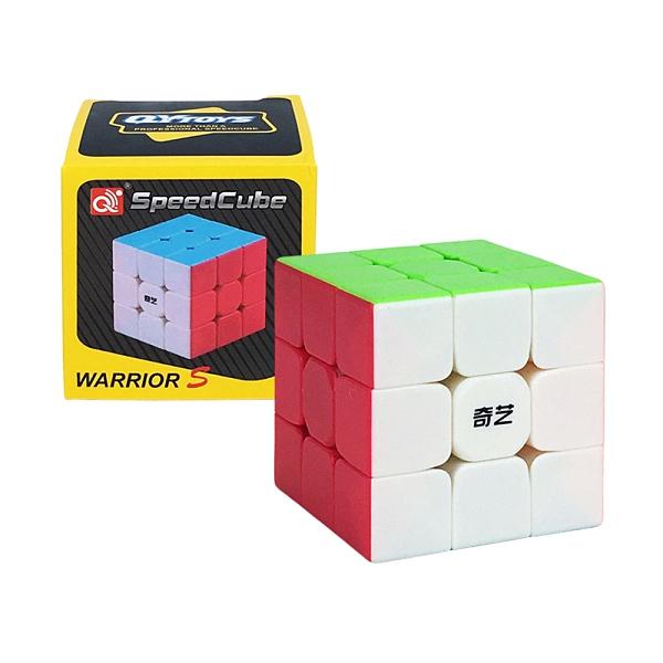 【888便利購】魔方格三階比賽專用魔術方塊(六色螢光版)(授權)