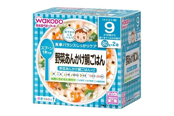 和光堂 WAKOD R31 蔬菜鯛魚飯160g (9個月以上) 198元