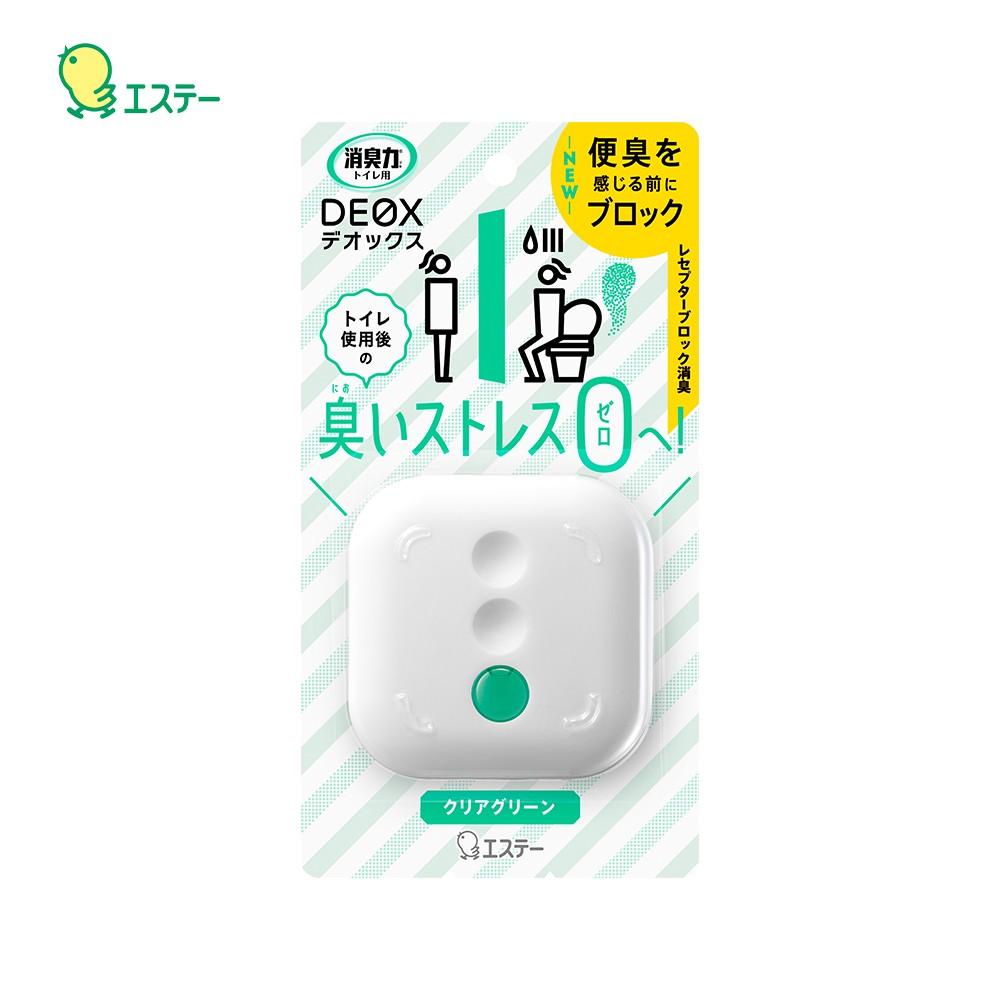 日本 ST雞仔牌 - DEOX 浴廁淨味消臭力 噴霧 除臭 隨身瓶-清透綠香6ml