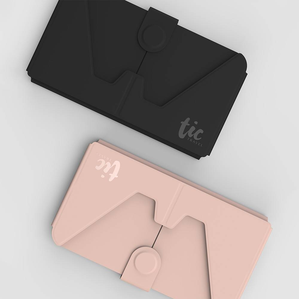 TIC HOLDER 超薄3合1 手機支架卡片口罩收納夾