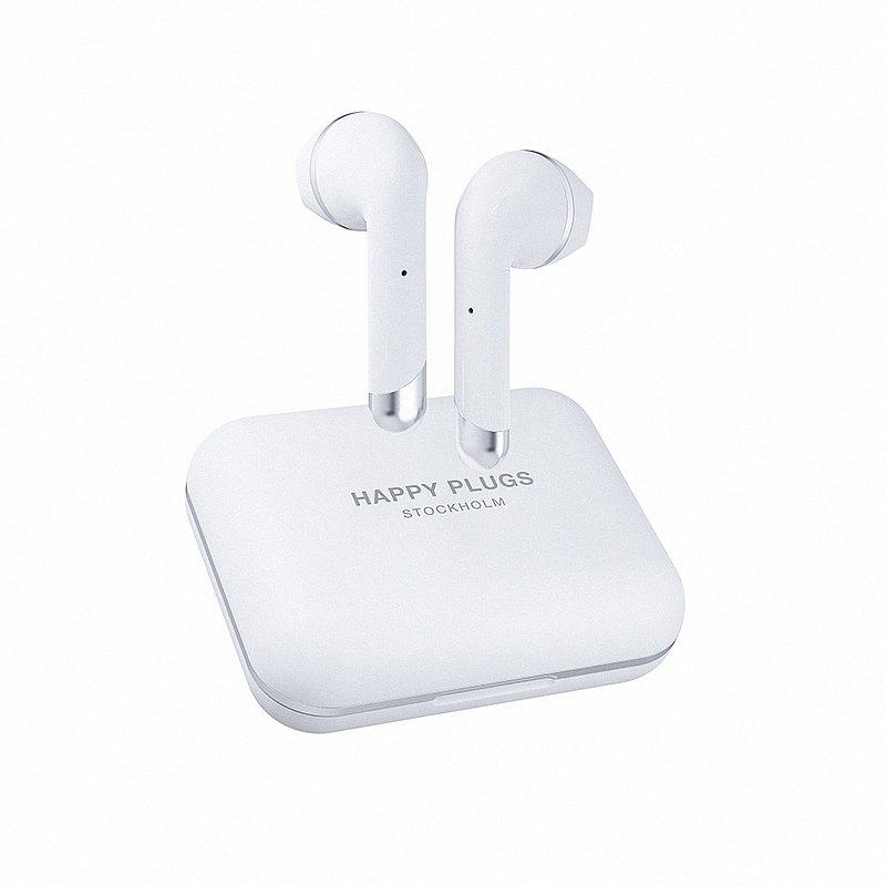 Happy Plugs Air 1 Plus Earbud 真無線藍牙耳塞式耳機 - 羽翼白