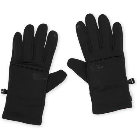 【美國 The North Face】中性款 5D人體工學四向彈力防風保暖觸屏觸控手套/4SHA-JK3黑 N