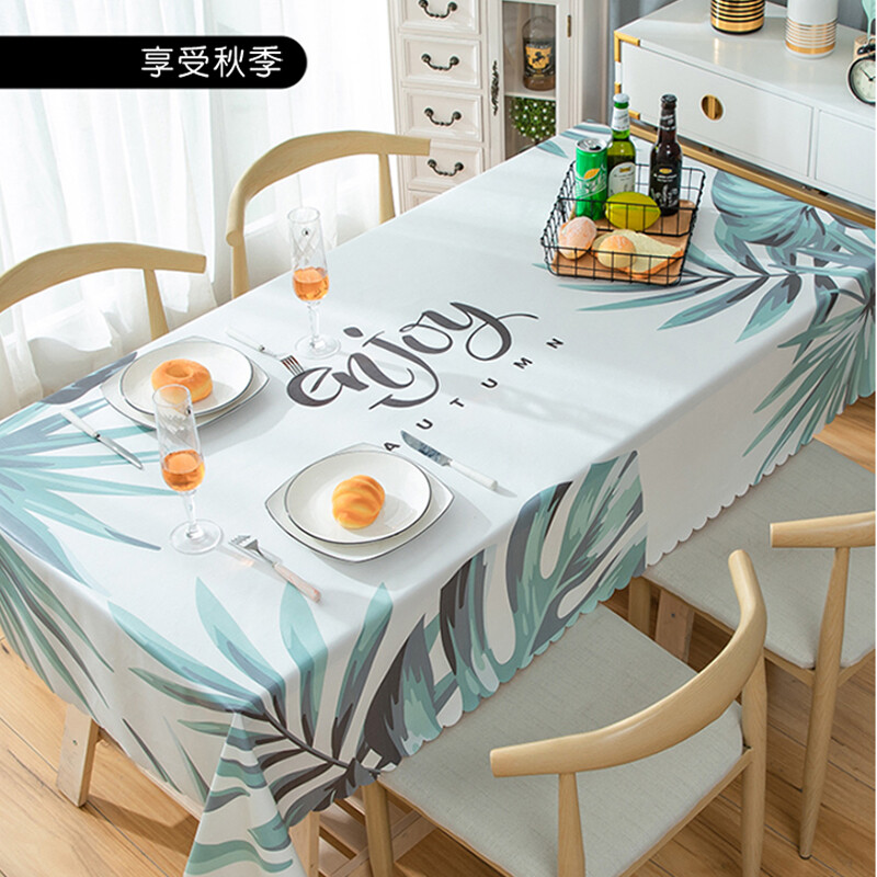 多款pvc防水防髒桌巾-90*135cm