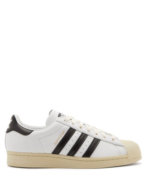 Adidas - Superstar Vintage Leather Trainers - Mens - White