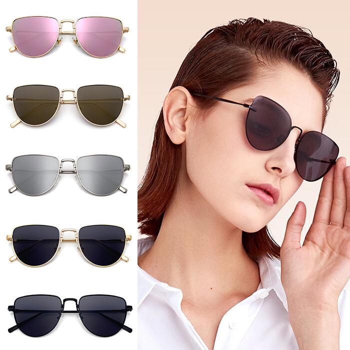 復古墨鏡 太陽眼鏡 歐美款 金屬框墨鏡 男女適用 嘻哈 時尚 潮流 抗uv 超高cp值