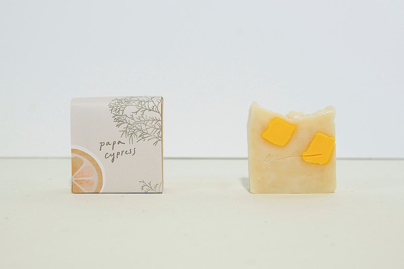 PAPA CYPRESS 檜木甜橙爸爸精油皂