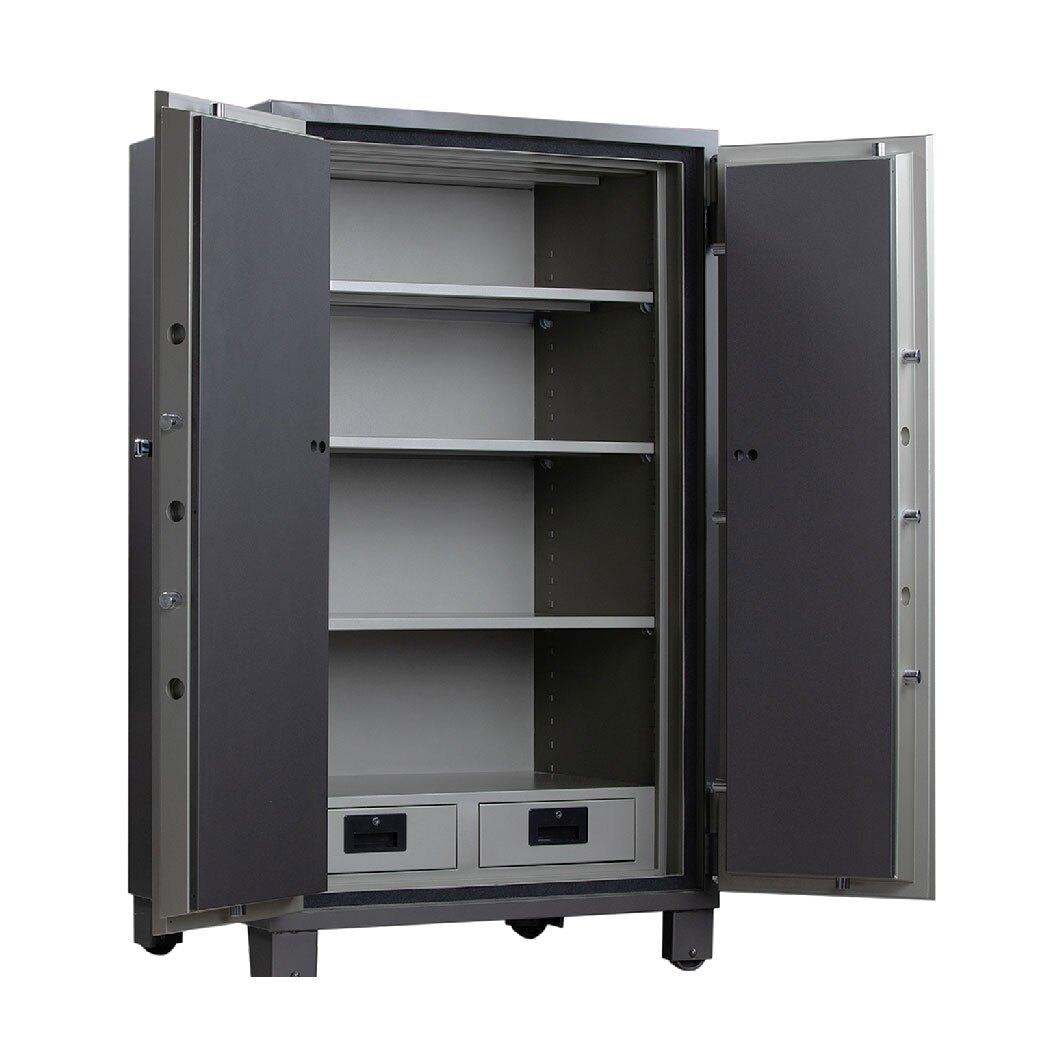 YB-301 雙門 不鏽鋼防火保險櫃 轉盤變號鎖/不銹鋼防火保險箱/不銹鋼保險櫃/保險箱/防盜金庫 ️全省維修服務