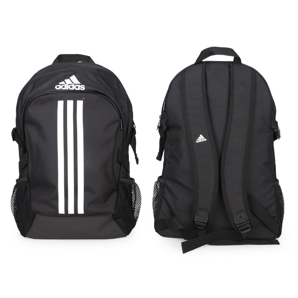 adidas 大型後背包-肩背包 雙肩包 旅行包 筆電包 愛迪達 15吋筆電 黑白
