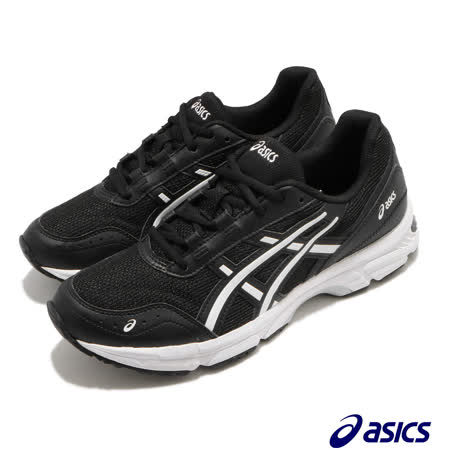 Asics 休閒鞋 Gel Escalate 運動 男女鞋 亞瑟士 避震 緩衝 穩定 穿搭推薦 黑 白 1201A042001 1201A042001