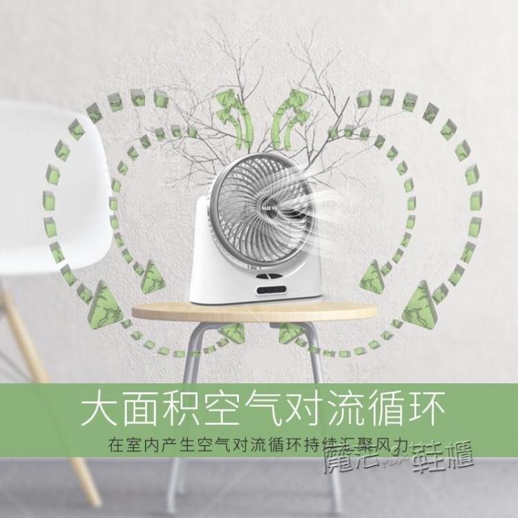 usb小風扇可充電迷你隨身靜音學生宿舍辦公室桌面台式電扇手持 魔法鞋櫃
