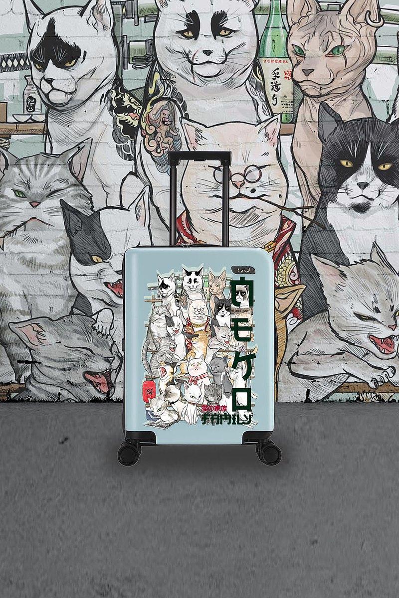 藍貓家庭旅行手提箱20英寸