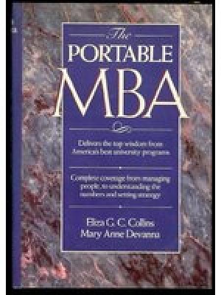 二手書博民逛書店 《The Portable MBA》 R2Y ISBN:0471619973│ElizaG.C.Collins