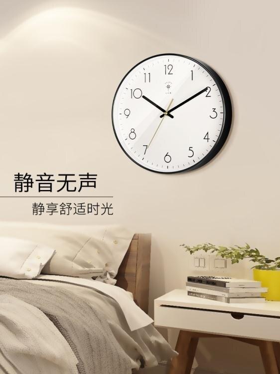 【限時下殺!85折!】北極星掛鐘客廳北歐鐘錶家用創意時鐘現代簡約大氣掛錶時尚石英鐘