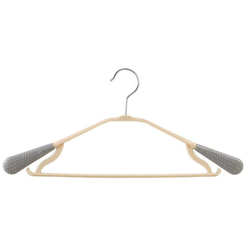 防滑衣服架晾衣架家用衣撐塑料衣掛鉤衣架子 雙十一