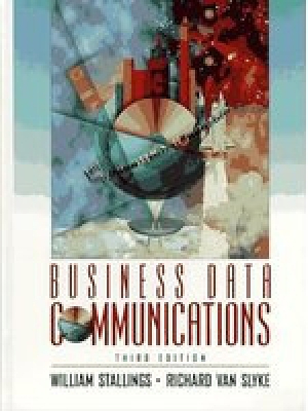 二手書博民逛書店 《Business data communications》 R2Y ISBN:013594581X