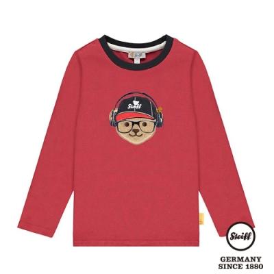 STEIFF德國精品童裝   可愛熊頭 長袖T袖衫