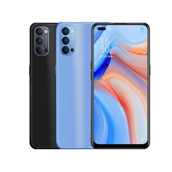 【OPPO】Reno4 (8G/128G)黑/藍 6.4吋 5G智慧手機