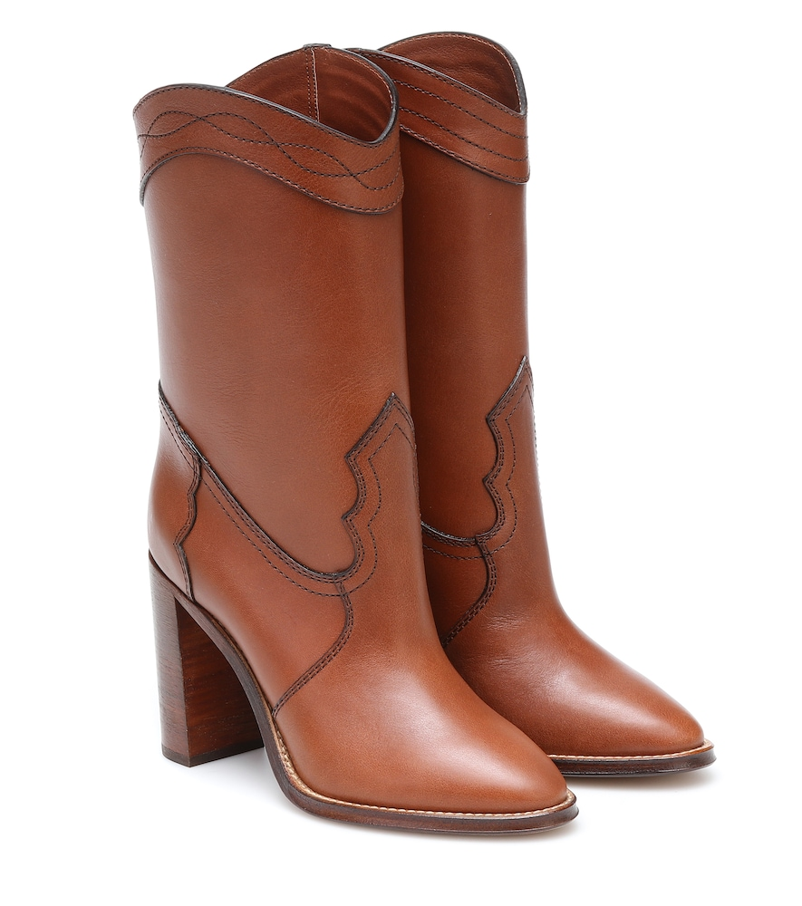 Kate 90 leather boots