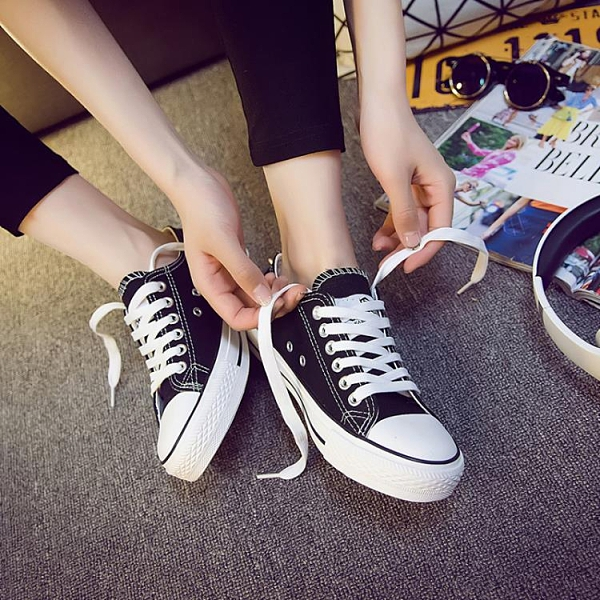 2020年新款小白帆布鞋女鞋球鞋板鞋韓版百搭秋季休閒布鞋