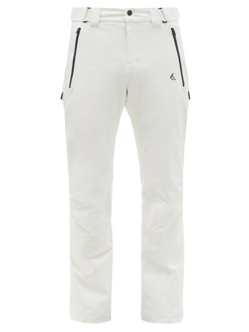 Capranea - Sign Adjustable-waist Technical Ski Pants - Mens - White