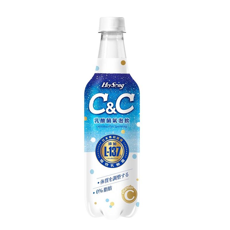 黑松C&C乳酸菌氣泡飲-510mlx4