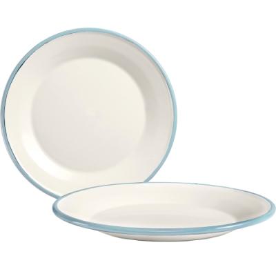 《IBILI》琺瑯餐盤(淡藍18cm)