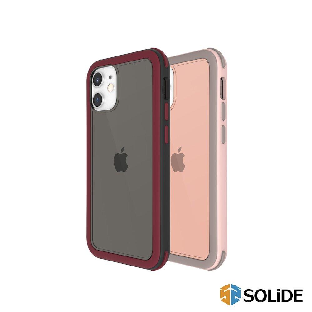 SOLiDE 維納斯 玩色 iPhone 12(6.1)2軍規抗菌防摔手機殼