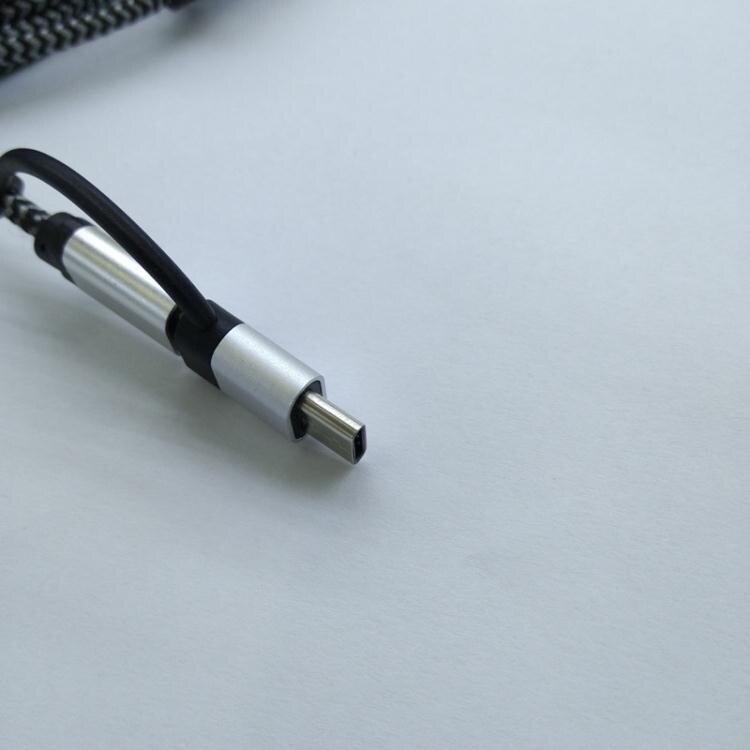 OPPO三星手機連接電視投影儀高清HDMI同屏線 視頻線 帶音頻聲音款   魔法鞋櫃